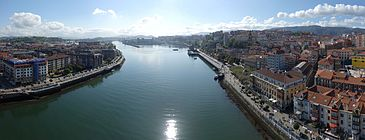 Portugalete Las Arenas Vizcaya Bridge South 001.jpg