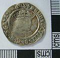 Post Medieval Coin , Groat of Henry VII (obverse) (FindID 630437).jpg