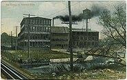 PostcardDanburyCTViewOfTheHatFactory1911