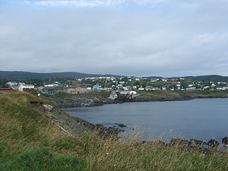 Pouch Cove Town in Newfoundland and Labrador, Canada