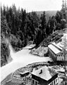 Powerhouse with view of Puyallup river, June 26, 1904 (SPWS 656).jpg