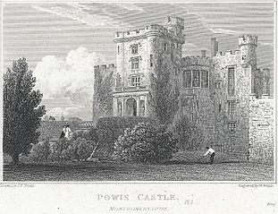 Powis Castle, Montgomeryshire. Pl 1