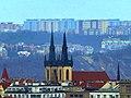 Prag - Blick vom Altstädter Rathausturm auf die Kirche Antonius von Padua - Blick vom Altstädter Rathausturm auf sterben Kirche Antonius von Padua - panoramio.jpg