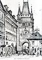 Prag Altstädter Brückenturm 1835.jpg