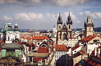 Clementinum - View of Prague from Clementinum