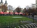 Praha, Staré Město, Staroměstské náměstí, předvánoční trhy.JPG