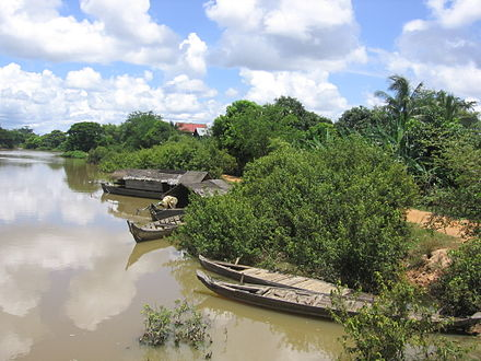 Prek Sbauv, the village where Pol Pot was born and spent his early years Prek Sbauv.JPG
