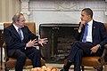 President Obama meets with Sudan Special Envoy Ambassador Princeton Lyman.jpg