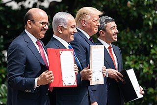 Bahrain–Israel normalization agreement 2020 agreement between Israel and Bahrain