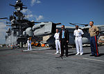 Press conference aboard future USS America during visit to Brazil 140806-N-FR671-223.jpg