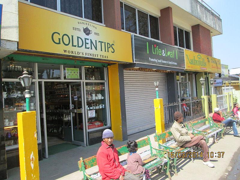File:Priciest tea-shops of Darjeeling in Chowrasia..JPG
