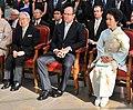 Prince Masahito Prince Albert II and Princess Hanako cropped Prince Masahito Prince Albert II Princess Hanako and Yukiya Amano 20100713.jpg