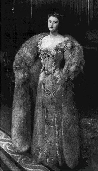 Winnaretta Singer - John Singer Sargent (1856–1925). Princesse Louis de Scey-Montbeliard, 1889