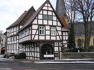 Gütersloh - Veerhoffhaus, built in 1649
