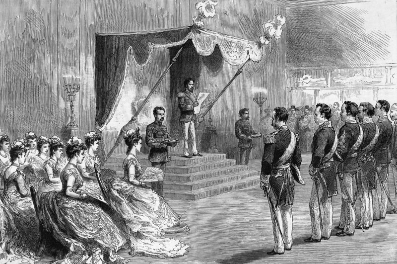 Promulgation of The New Japanese Constitution (1889)