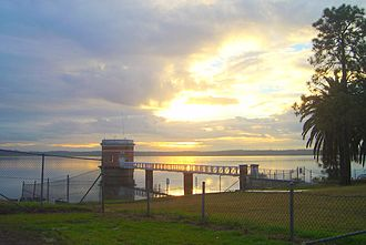 Prospect, New South Wales - The Prospect Reservoir at sunset