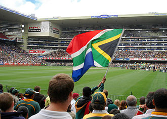 Newlands Stadium - Image: Proudly South African