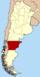Lage der Provinz Chubut