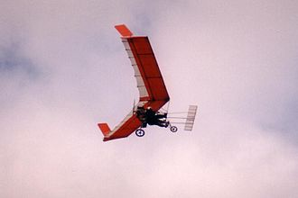 Ultralight aircraft (United States) - Pterodactyl Ascender ultralight aircraft.