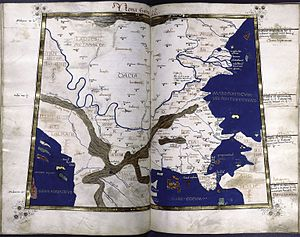 Dacia - Dacia map cf. Ptolemy (2nd century AD)