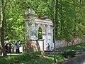 Puławy, zespół pałacowo-parkowy, łuk rzymski 11.JPG