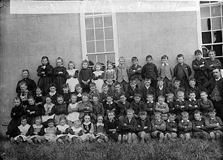 Pupils, Pen-ffordd school (Bletherston)