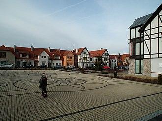 Puszczykowo - Market square