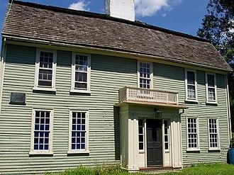 General Israel Putnam House - Putnam House, front view