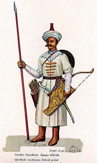 Qizilbash - A Safavid Qizilbash cavalryman.