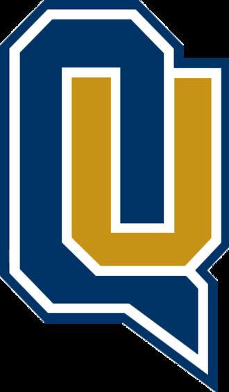 Quinnipiac Bobcats men's basketball - Image: QU wordmark