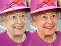 Queen Elizabeth II March 2015 comparison.jpg