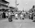 Queensland State Archives 6482 Parade for the unveiling of the sugar pioneers memorial Innisfail 4 October 1959.png