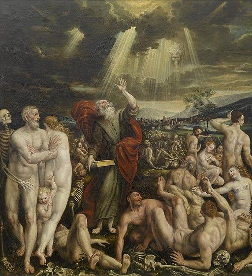 Quinten Massys Vision des Propheten Ezechiels