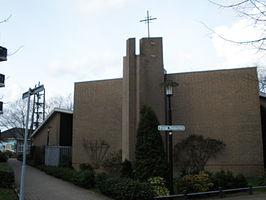 Afbeeldingsresultaat voor kerk Oranje Nassaulaan, Utrecht