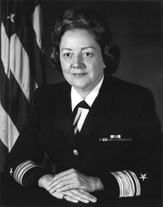 Alabama Women's Hall of Fame - Image: R Adm Fran Mc Kee USN