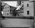 REAR EXTERIOR VIEW, GENERAL - Henry Barnard House, 118 Main Street, Hartford, Hartford County, CT HABS CONN,2-HARF,11-3.tif
