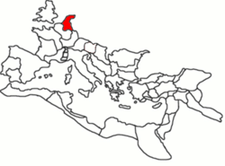 Location of Germania Inferior