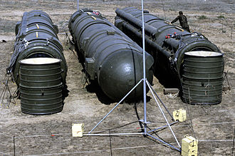 Kapustin Yar - RSD-10 missiles prepared for destruction