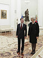 RIAN archive 985345 President Dmitry Medvedev meets with managing director of International Monetary Fund Christine Lagarde.jpg