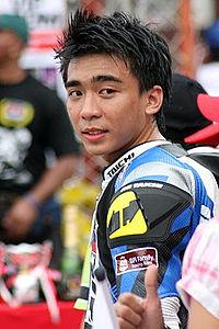 RIP Maico Buncio Yamaha Racing IRGP 2009 Philippines.jpg
