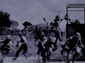 Federation of Rhodesia and Nyasaland - Troops of the CAF's Rhodesian Light Infantry training in 1963
