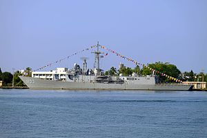 ROCN Cheng Ho (PFG2-1103) Shipped at Zuoying Naval Base 20141123.jpg
