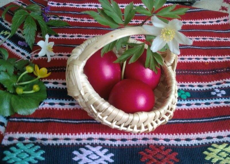 RO BV Easter eggs