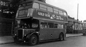 Leyland Titan (front-engined double-decker) - Image: RTL554old
