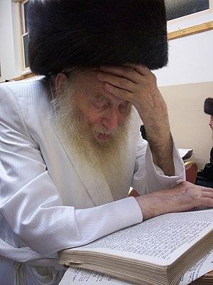 Rebbe - Rebbe Naftali Tzvi Labin of Zidichov