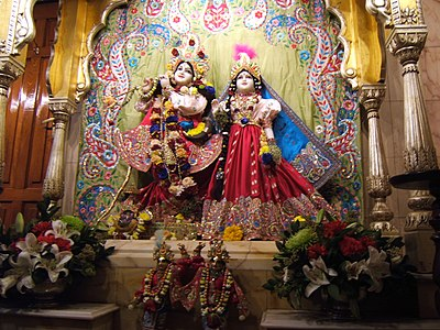 Храм Радхи-Кришны в Лондоне