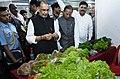 Radha Mohan Singh along with the Governor of Meghalaya, Shri Ganga Prasad visiting the exhibition stalls, at the launch of the Meghalaya Milk Mission, in Shillong, Meghalaya.JPG