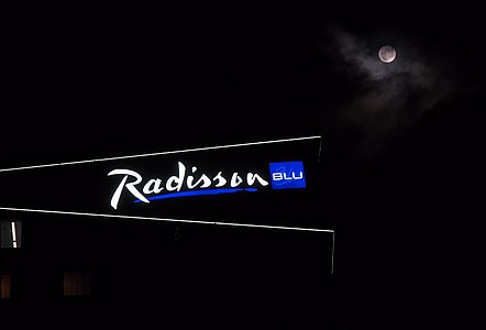 Radisson Blu in Christmas time
