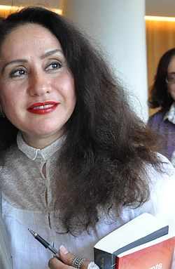 Rajaa Alem -joint winners of the 2011 Arabic Booker Prize (Cropped).jpg