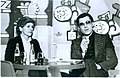 Ranko Munitic (1943-2009), right, with Vera Horvat Pintaric.jpg